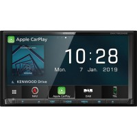 """Kenwood DNX7190DABS - 7"""" CarPlay Android Auto"""