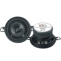 Excalibur X87 - 8cm 2-Way Coaxial Car Speakers 320W Total Power