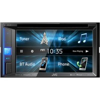"""JVC KW-V250BT - 6.2"""" CD/DVD/USB Buetooth iPhone Android Screen"""
